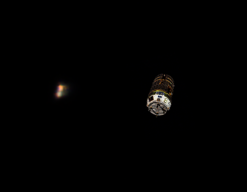 HTV-7 cargo spacecraft flying solo