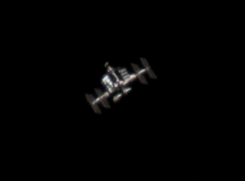 ISS during hazy conditions