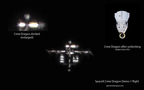 SpaceX Crew Dragon Demo-1 mission best shot