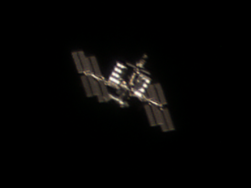Birthday ISS photo - SpaceX CRS-20 mission